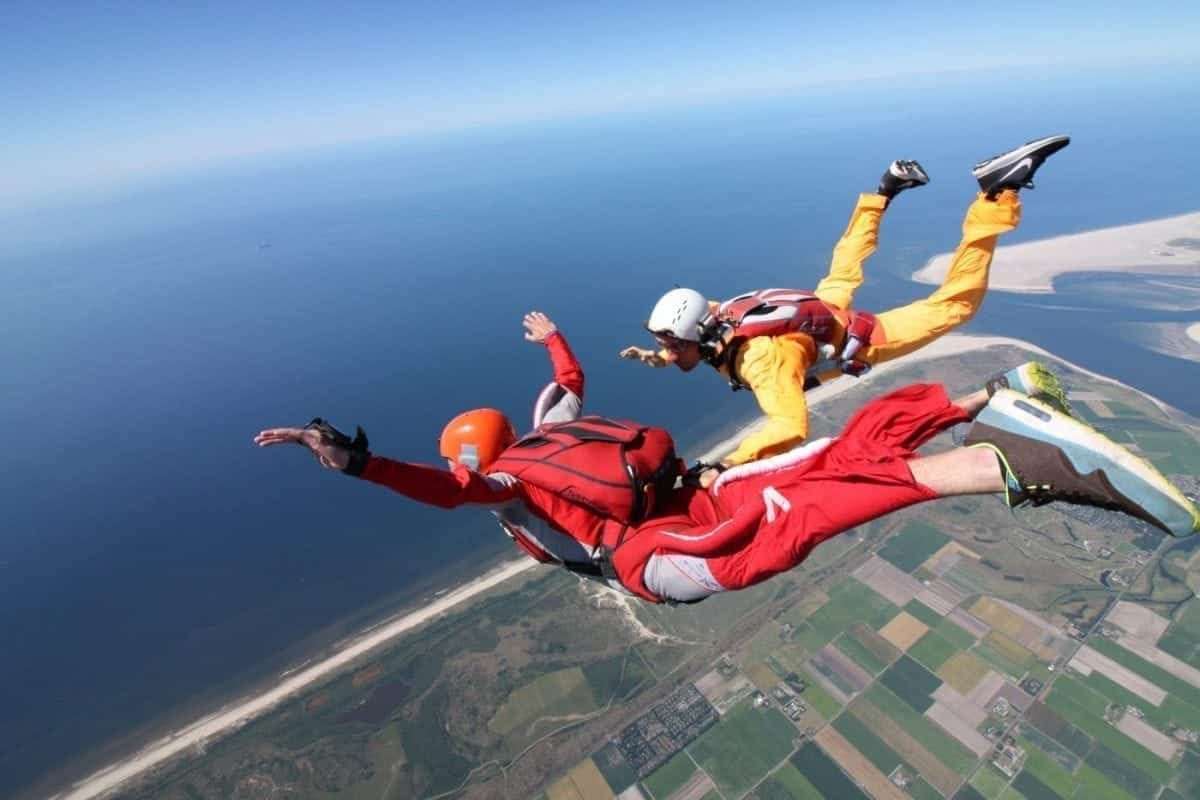 AFF: Accelerated Freefall   Paracentrum Texel